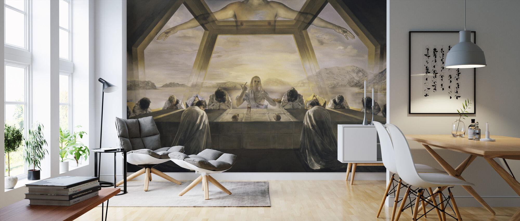 Sacrament of the Last Supper - Salvador Dali - Wallpaper - Living Room