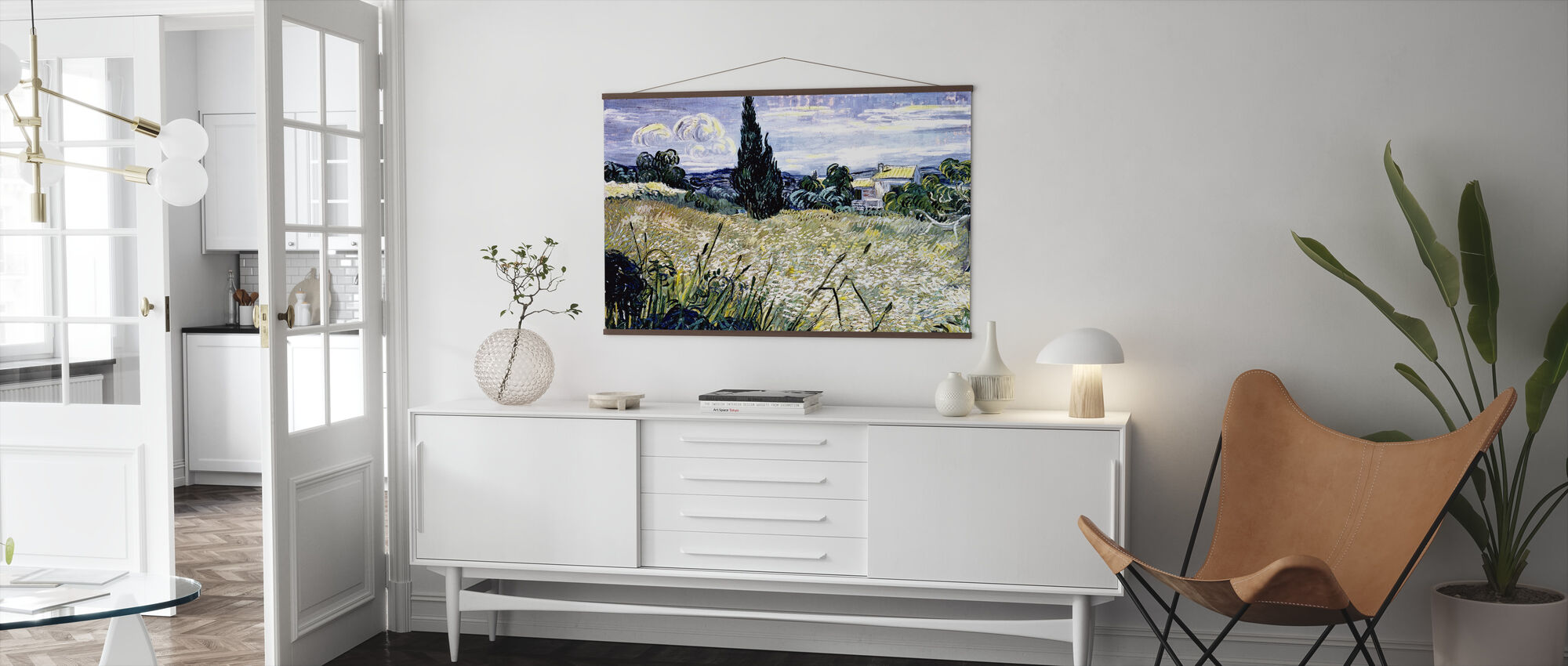 Landscape with Green Corn - Vincent van Gogh - Poster - Living Room