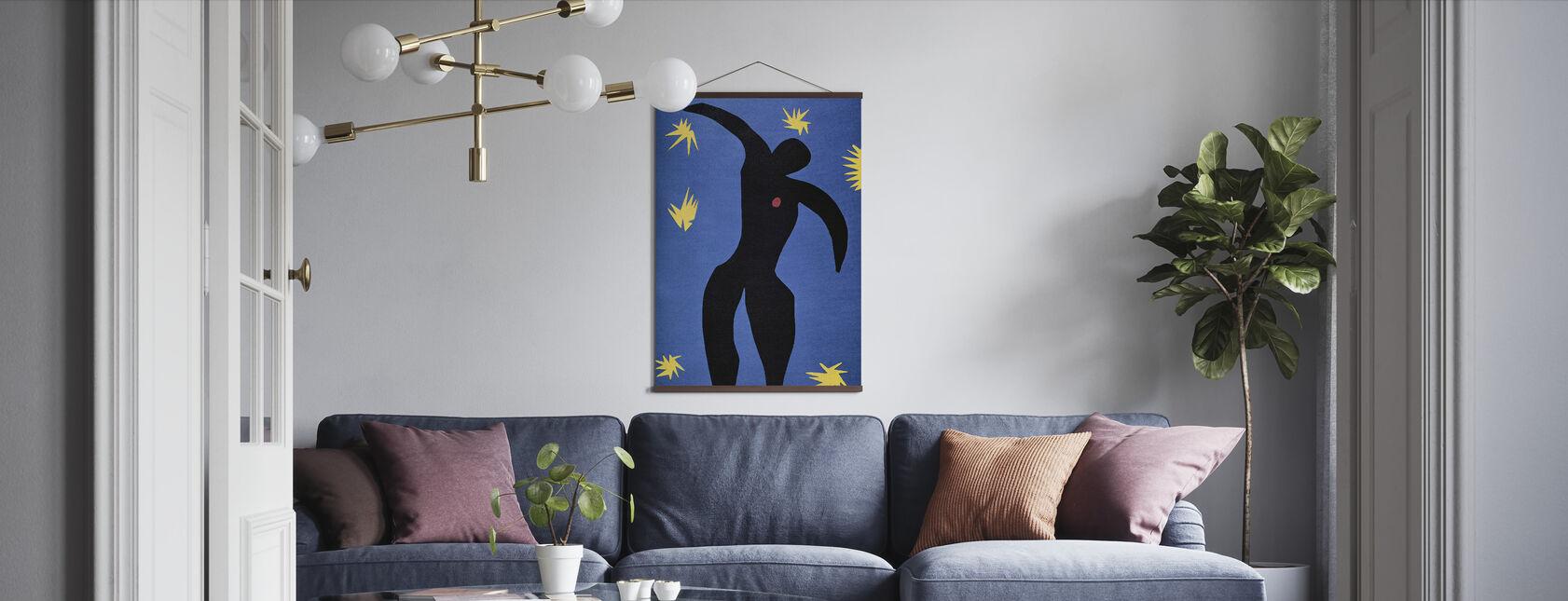 Icarus in Stars - Henri Matisse - Poster - Living Room