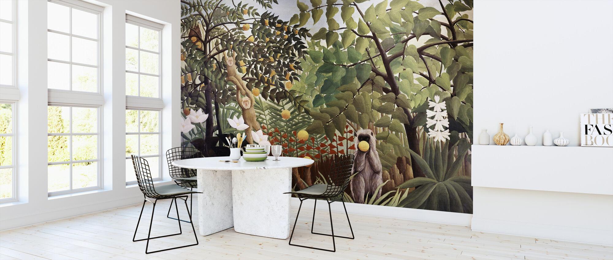 Exotic Landscape - Henri Rousseau - Wallpaper - Kitchen