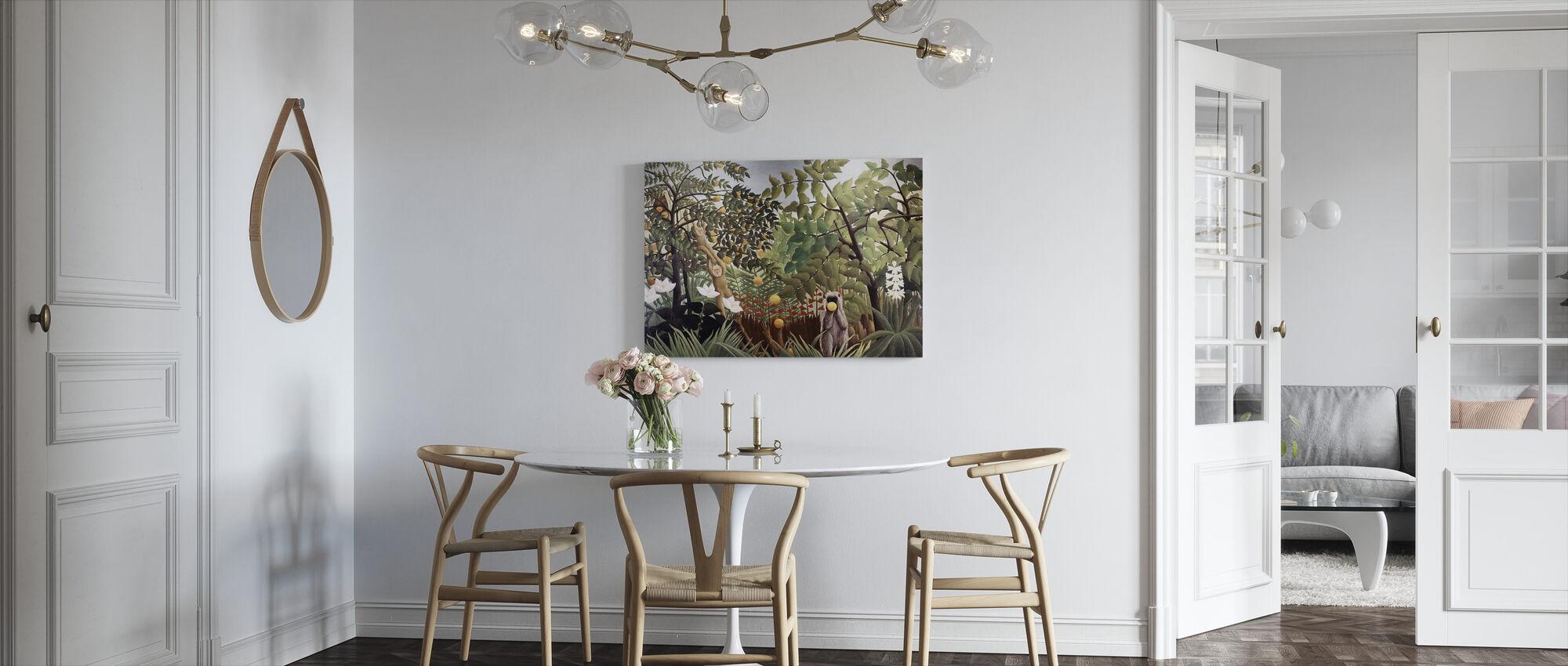 Eksoottinen maisema - Henri Rousseau - Canvastaulu - Keittiö