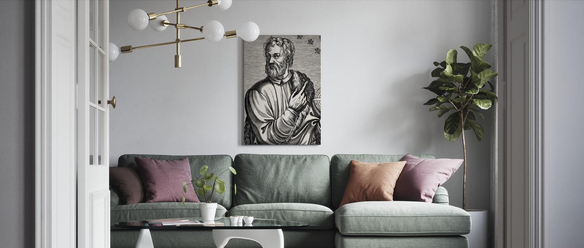Christopher Kolumbus - Canvastaulu - Olohuone