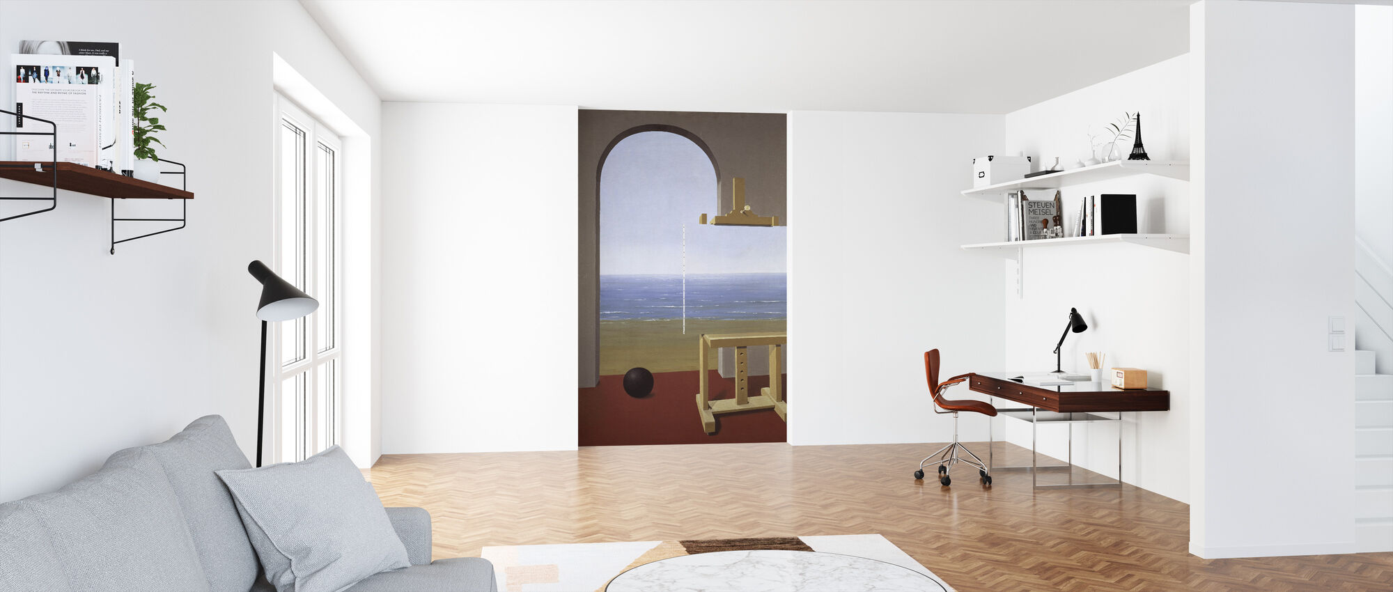 Human Condition - Rene Magritte - Wallpaper - Office