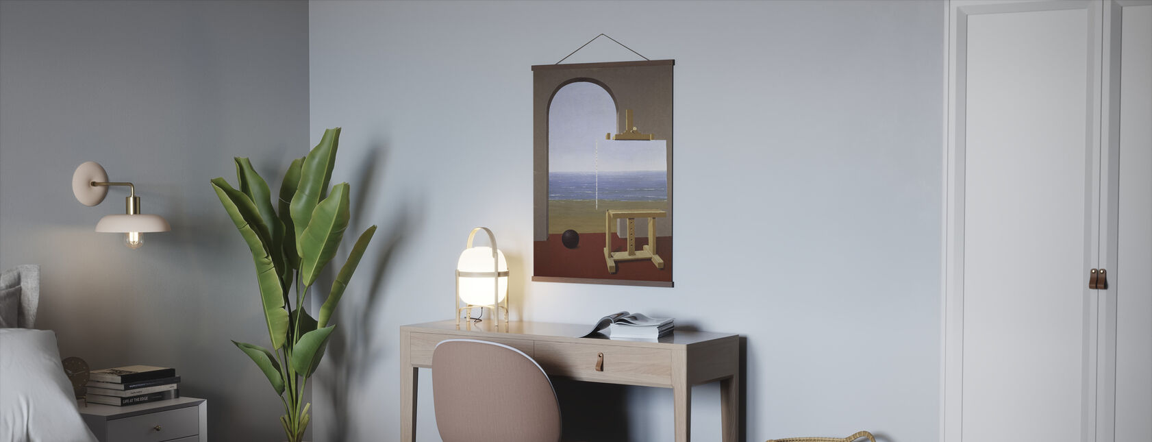 Human Condition - Rene Magritte - Poster - Office