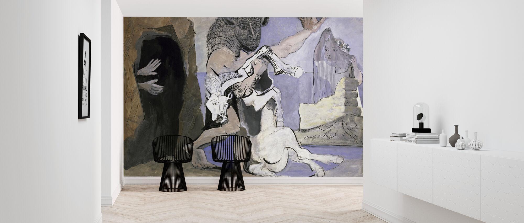 Minotaur og Dead Mare - Pablo Picasso - Tapet - Entré