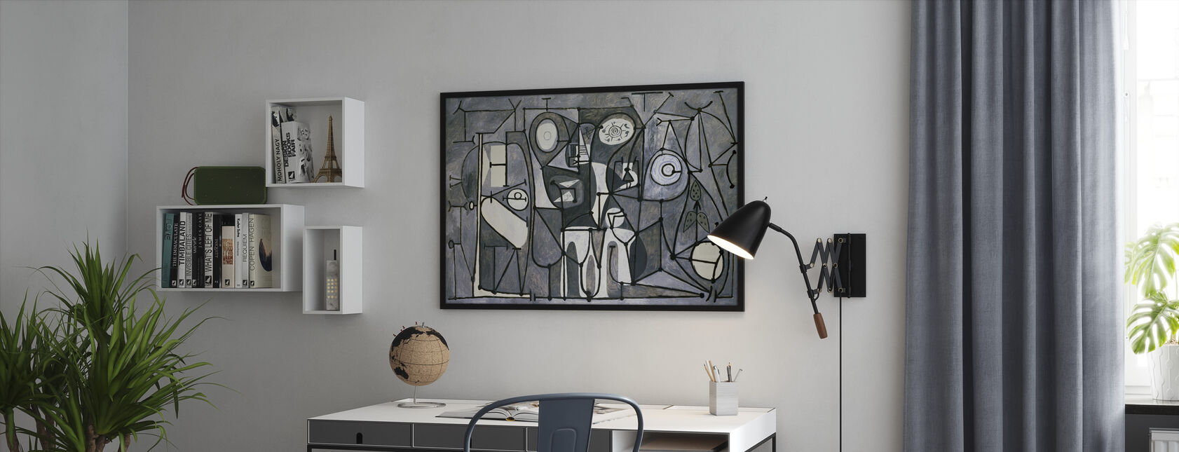 Kitchen - Pablo Picasso - Framed print - Office