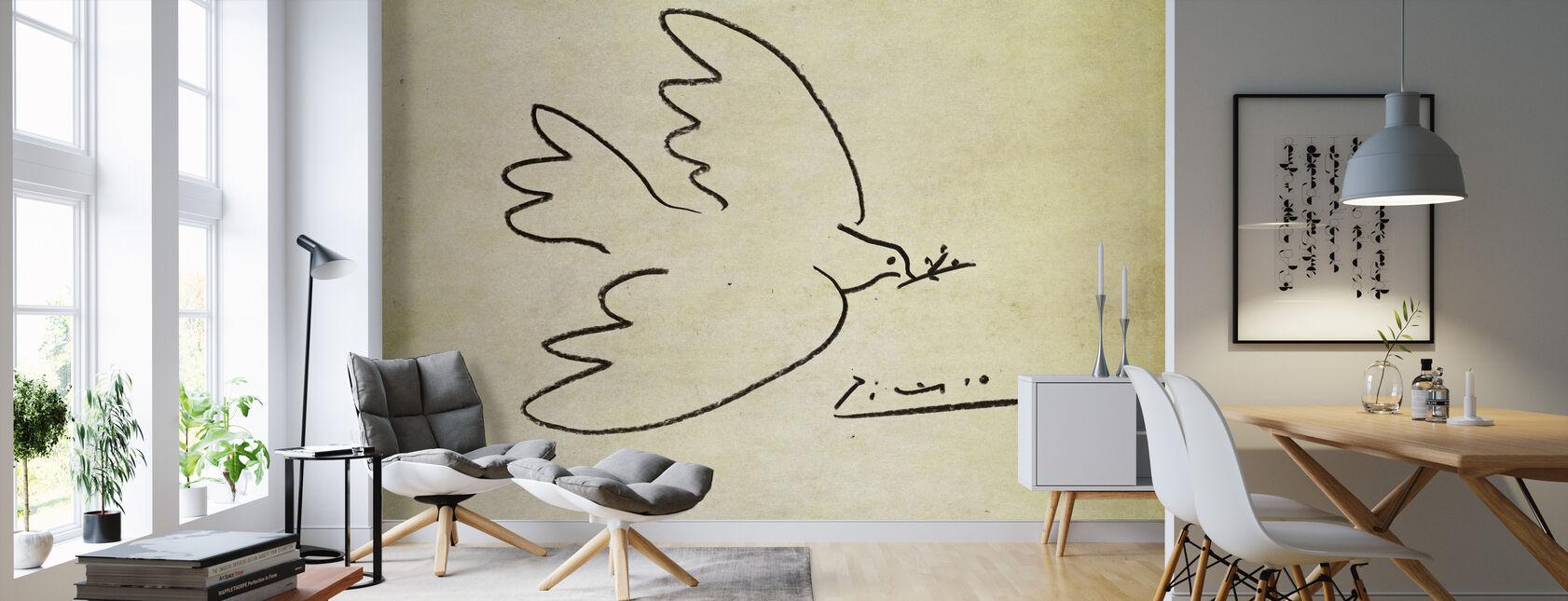 Where - Pablo Picasso - Wallpaper - Living Room