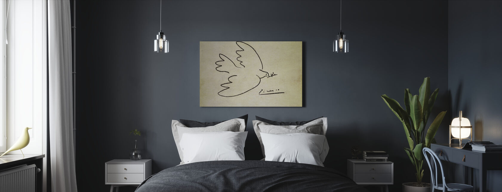 Where - Pablo Picasso - Canvas print - Bedroom