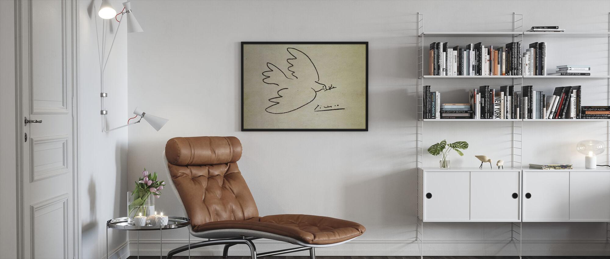 Where - Pablo Picasso - Framed print - Living Room