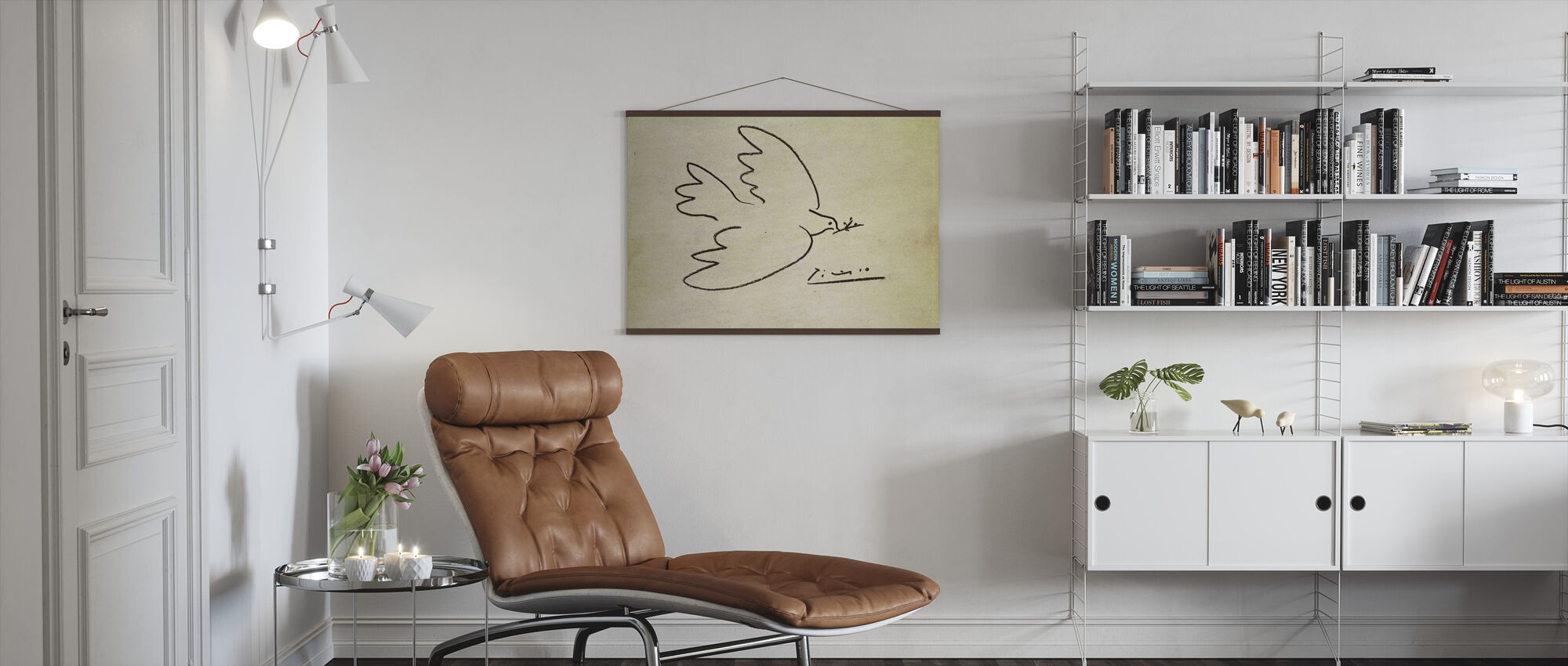 Where - Pablo Picasso - Poster - Living Room