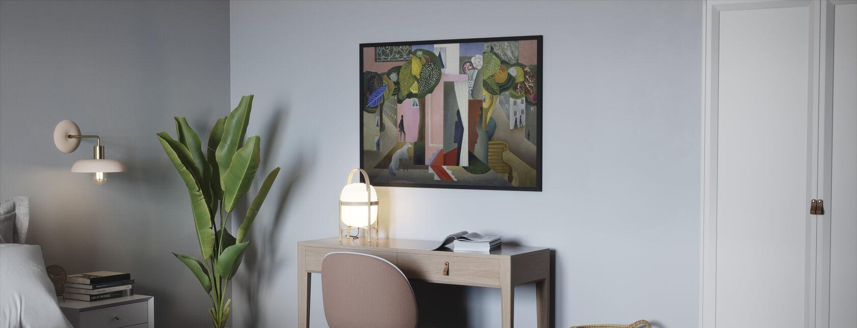 Landscape - Leopold Survage - Framed print - Bedroom