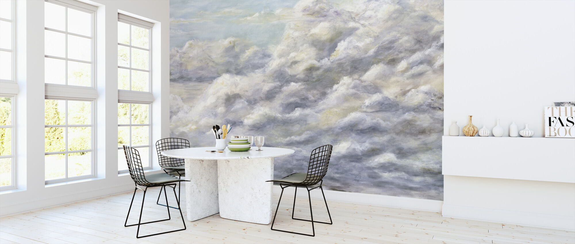 Second Home - Diantha York-Ripley - Wallpaper - Kitchen