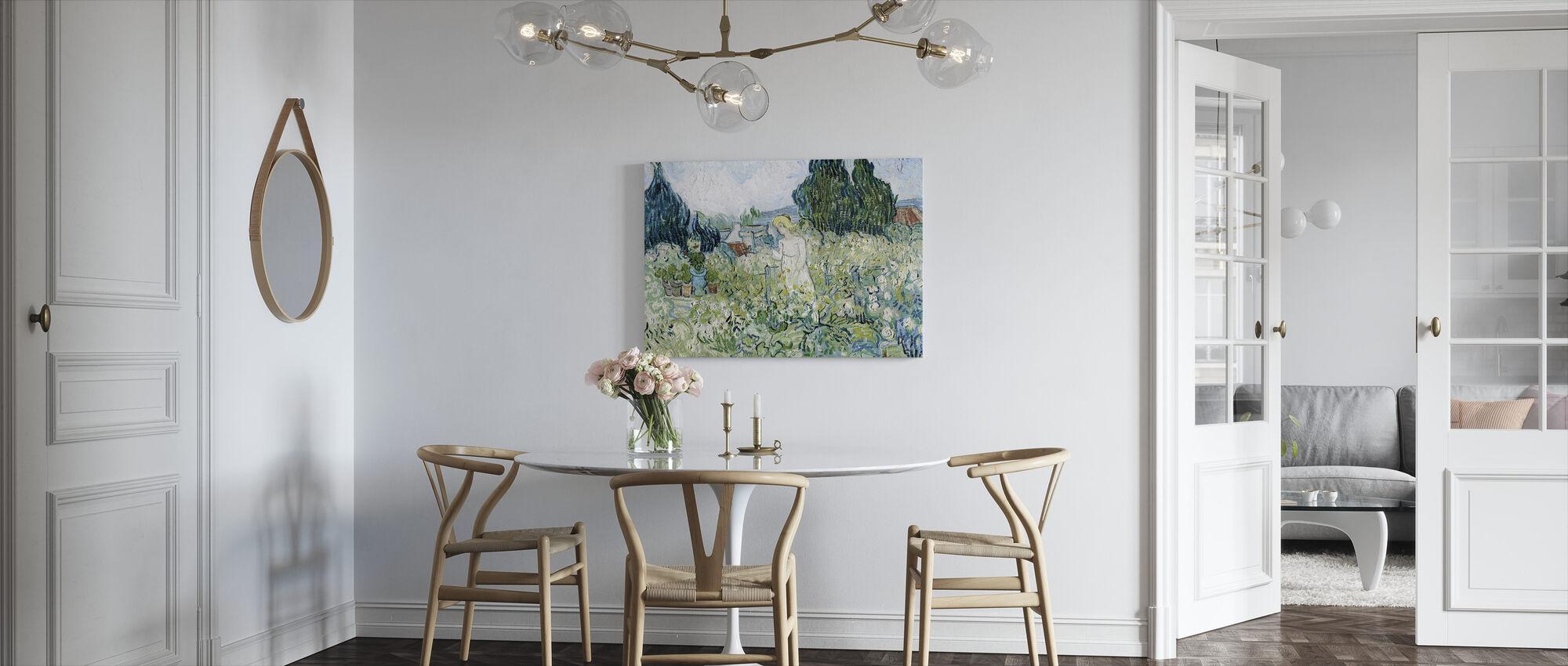 Marguerite Gachet in the Garden - Vincent van Gogh - Canvas print - Kitchen