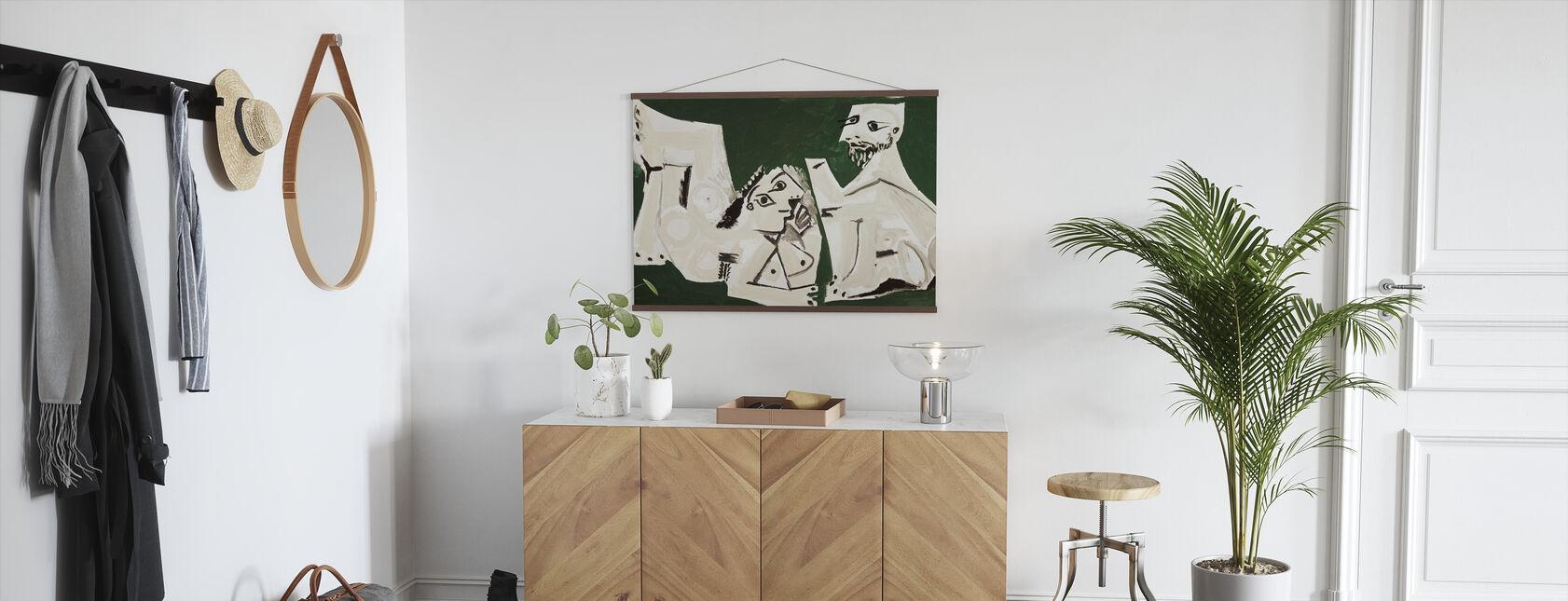 Naken Man och Kvinna - Pablo Picasso - Poster - Hall