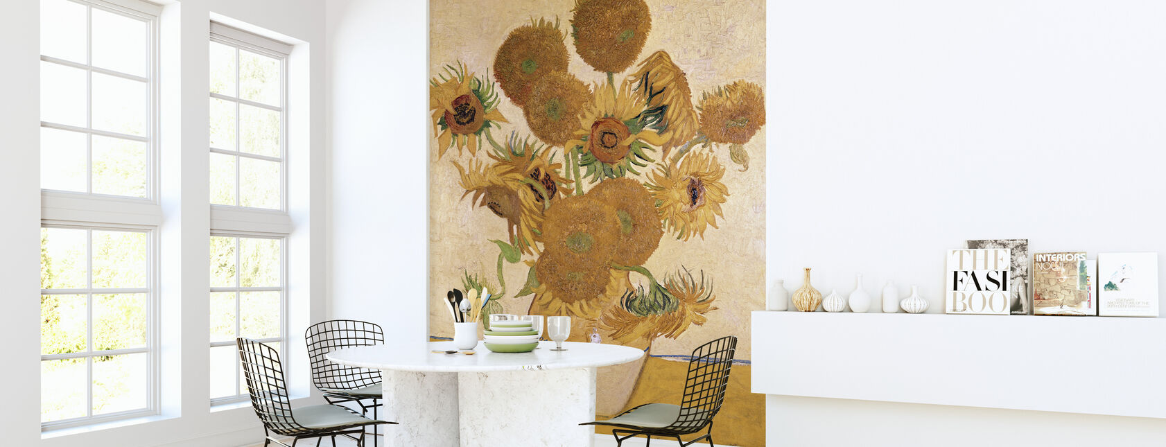 Sunflowers - Vincent van Gogh - Wallpaper - Kitchen