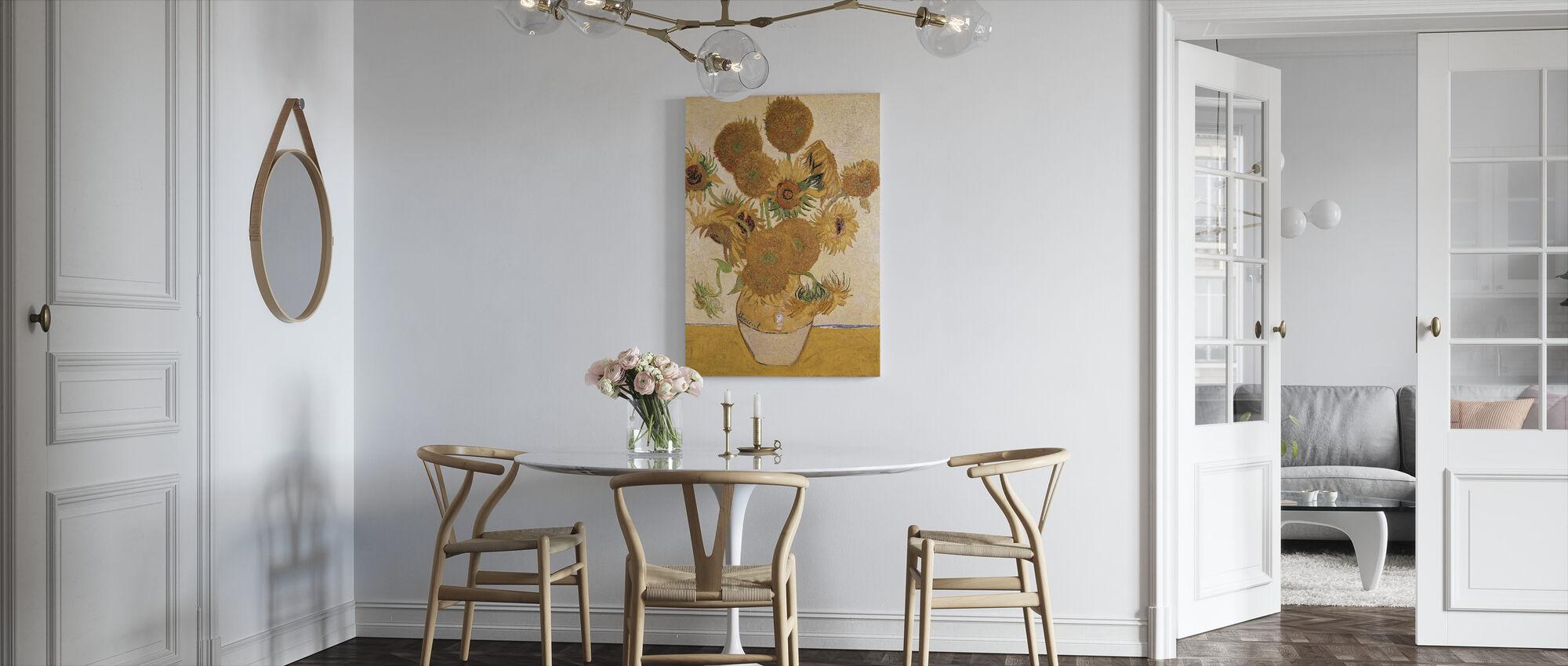 Sunflowers - Vincent van Gogh - Canvas print - Kitchen