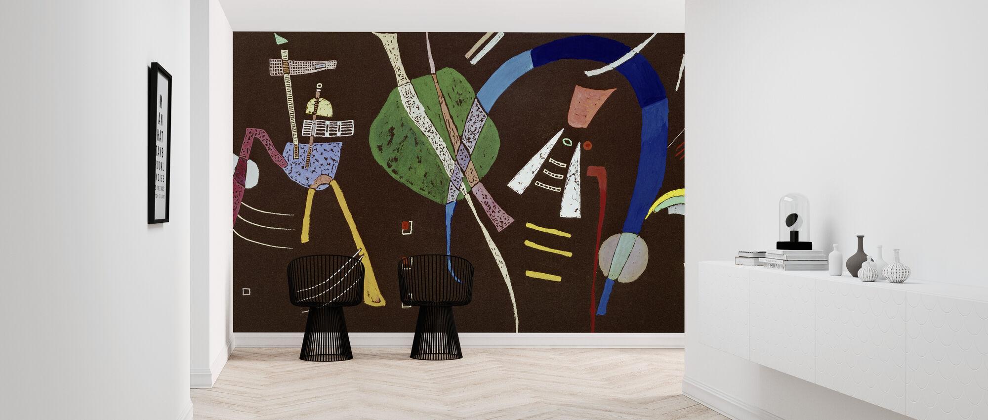 Blå Bue - Vassily Kandinsky - Tapet - Entré