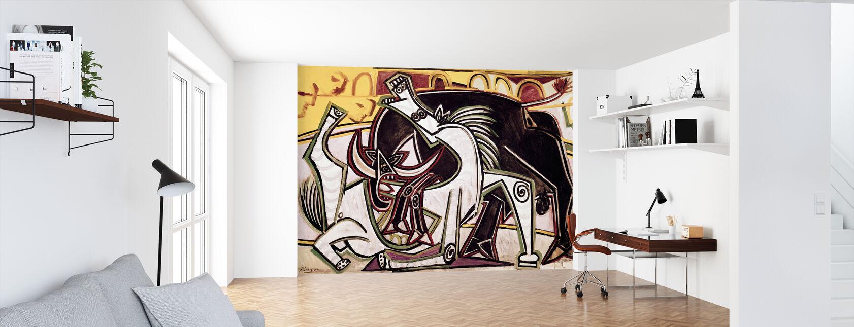 Bullfight - Pablo Picasso - Wallpaper - Office