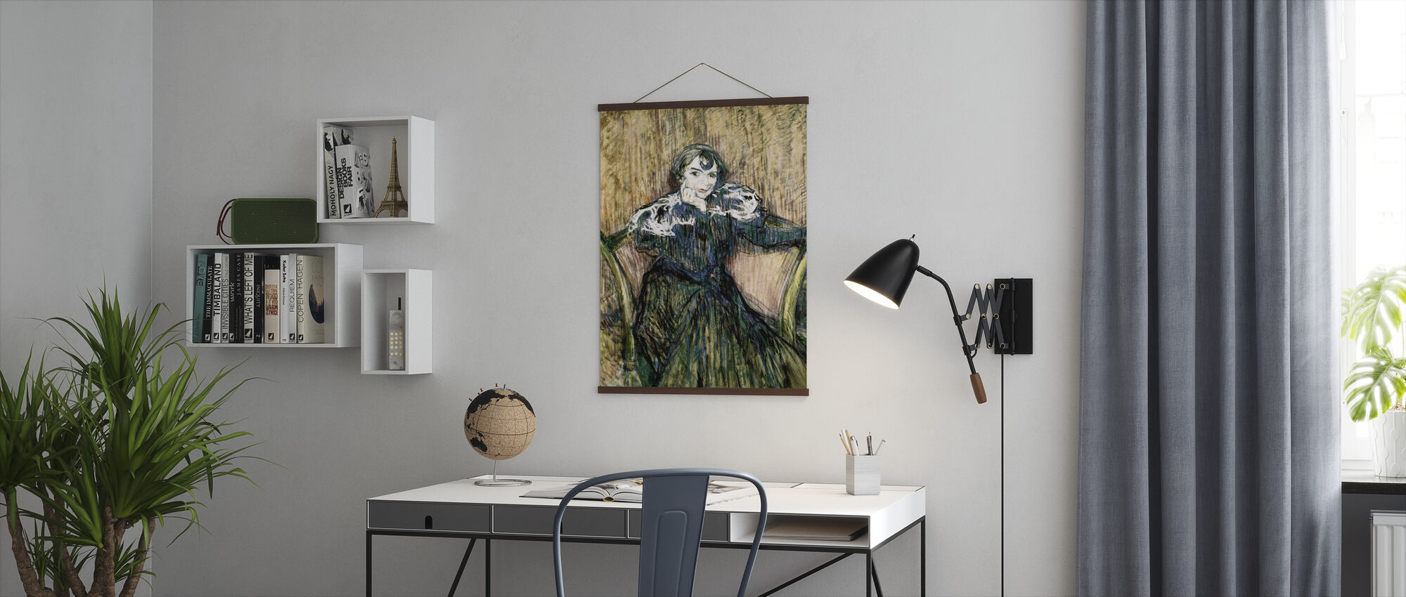 Madame Berthe Bandy - Henri de Toulouse-Lautrec - Plakat - Kontor