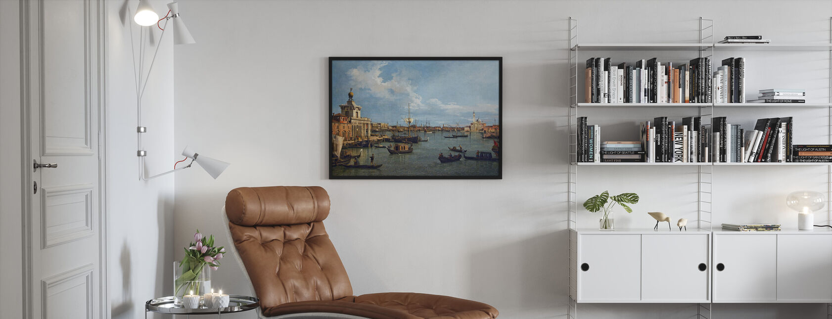 San Marco Basin - Canaletto - Framed print - Living Room