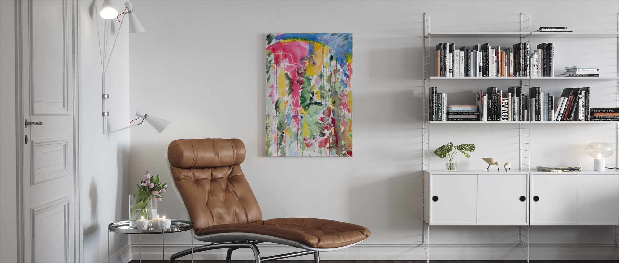 Blue Monday Dreaming - Mark Ari - Canvas print - Living Room