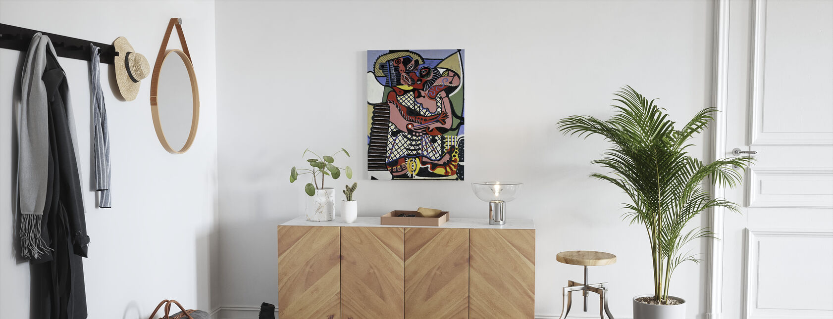 Kyss - Pablo Picasso - Canvastavla - Hall