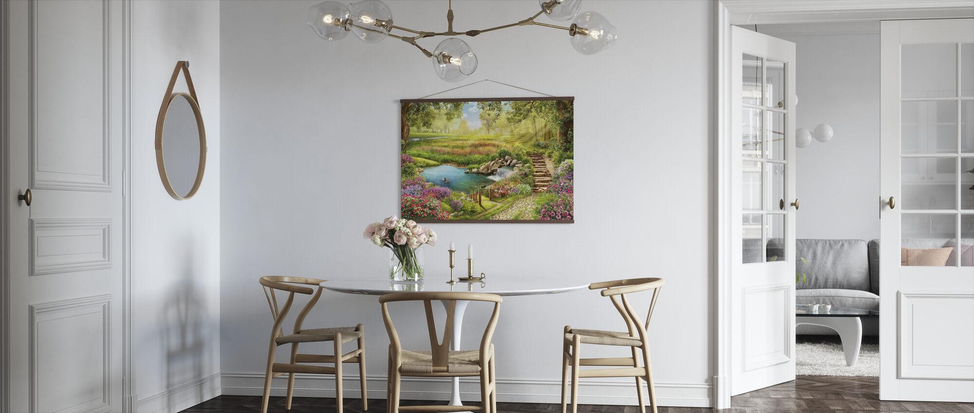 Ducks Paradise - Poster - Kitchen