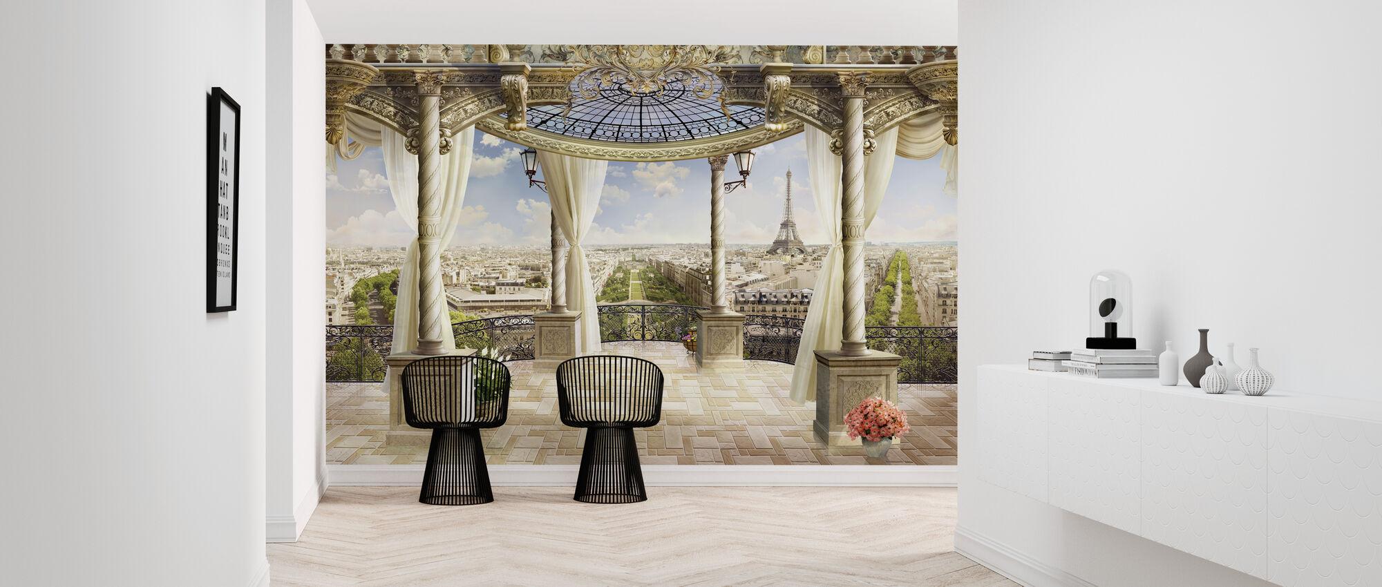 Majestic Paris Terrace - Wallpaper - Hallway