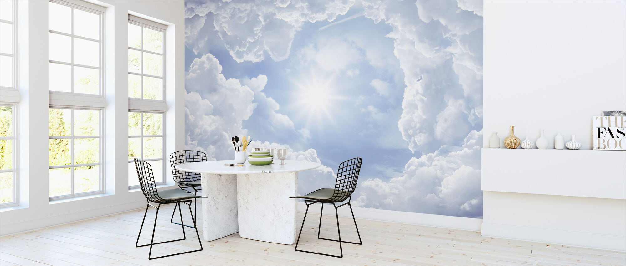 Shine on Me - Wallpaper - Kitchen