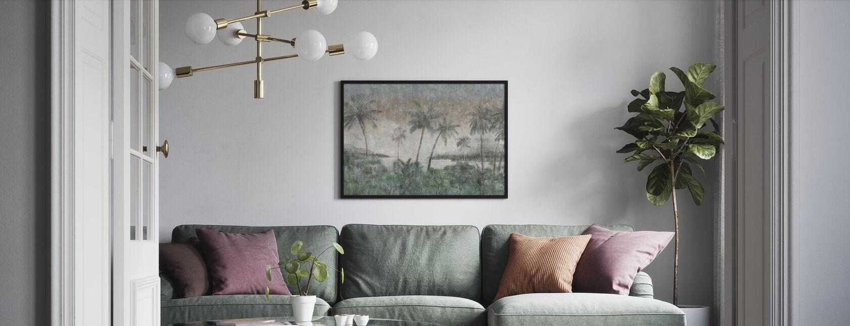 Waikiki - Inramad tavla - Vardagsrum