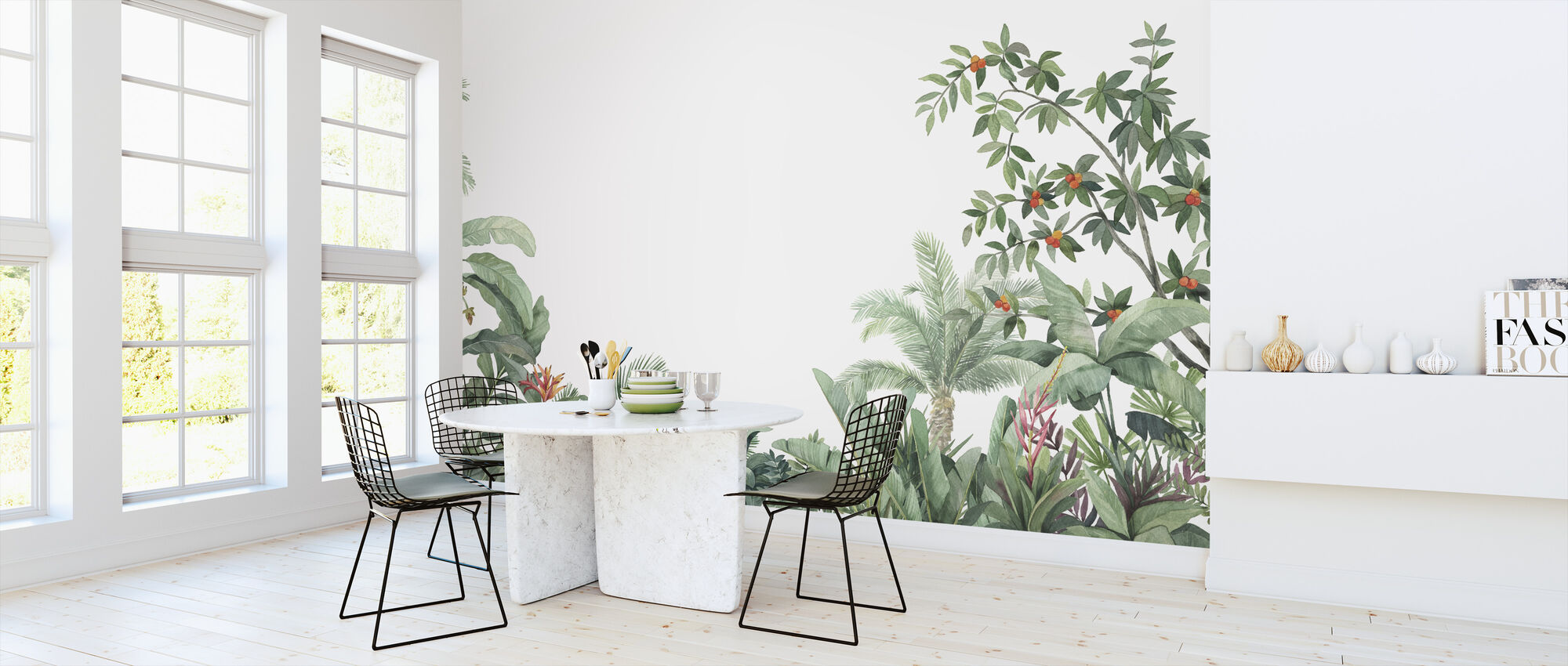 Tropical Arrangement - Wallpaper - Kitchen