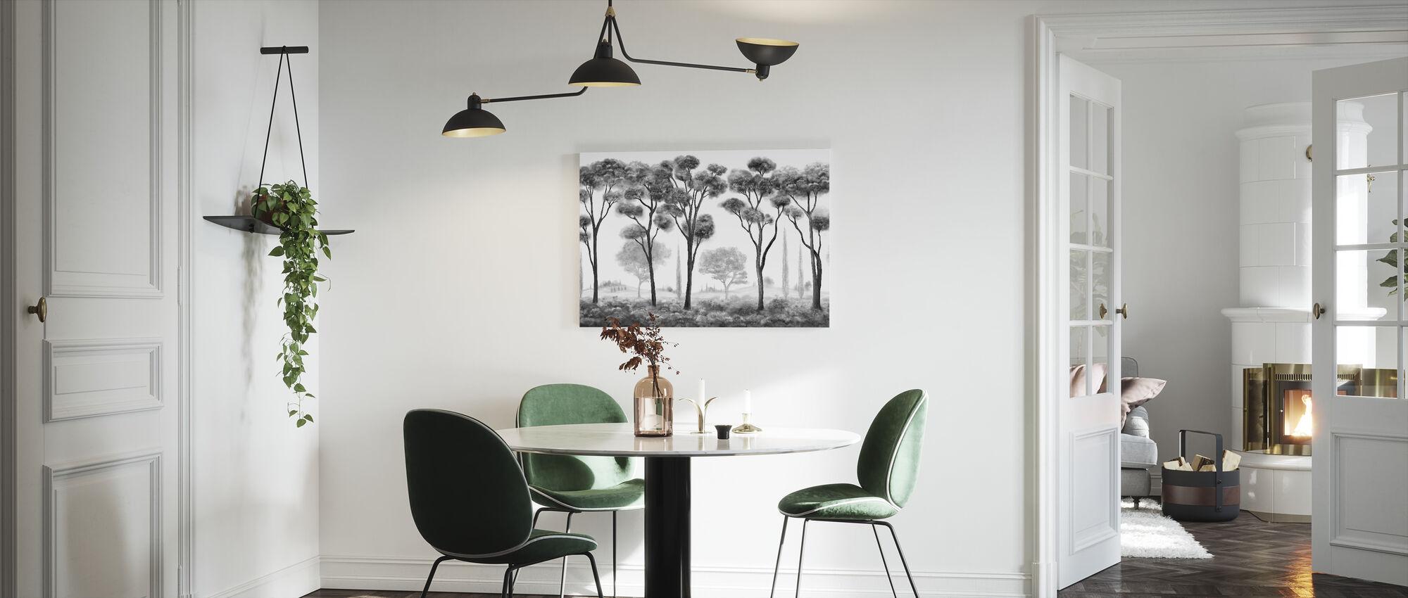 Shafts Chiaroscuro - Canvas print - Kitchen