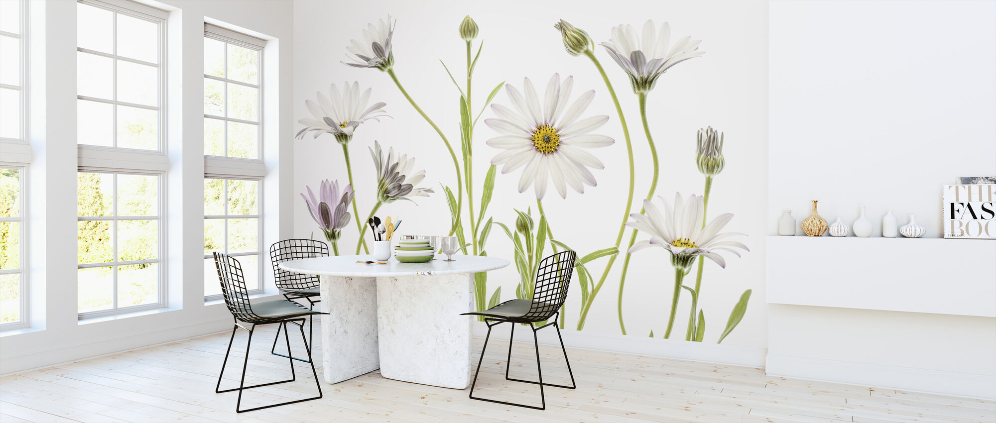 Cape Daisies - Wallpaper - Kitchen