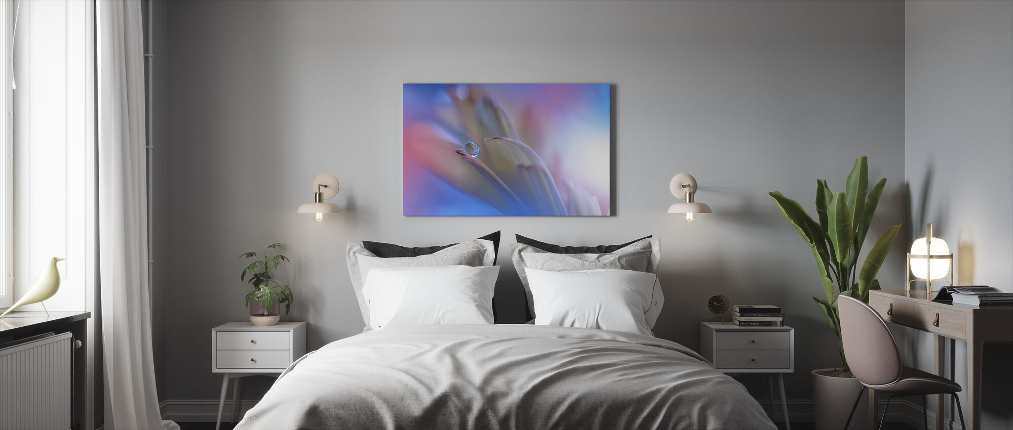 Touch Me Softly - Canvas print - Bedroom