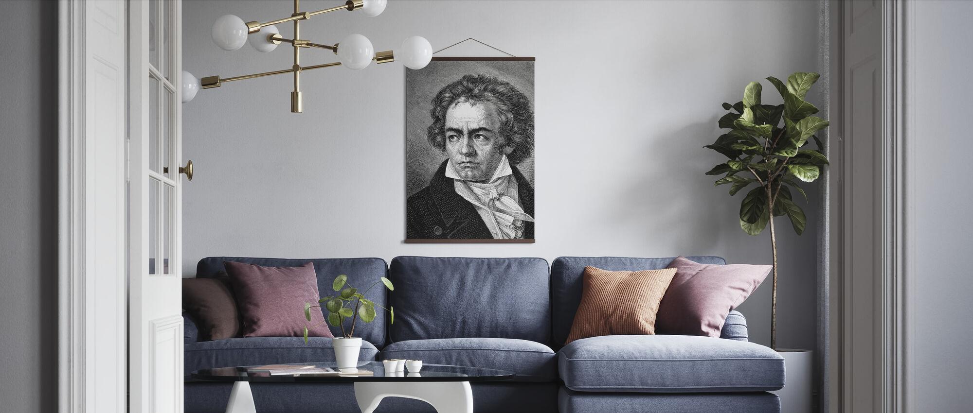 Ludwig van Beethoven - Poster - Living Room