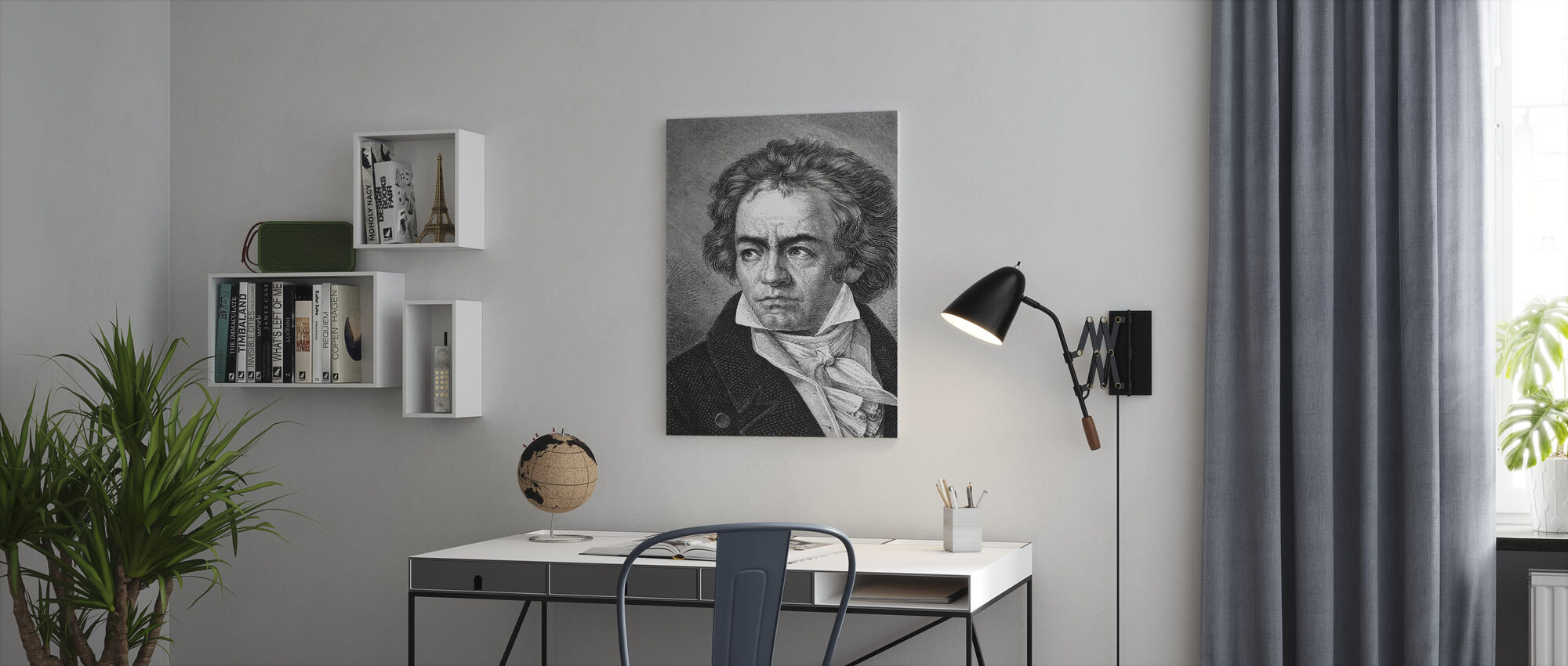 Ludwig van Beethoven - Canvas print - Kantoor