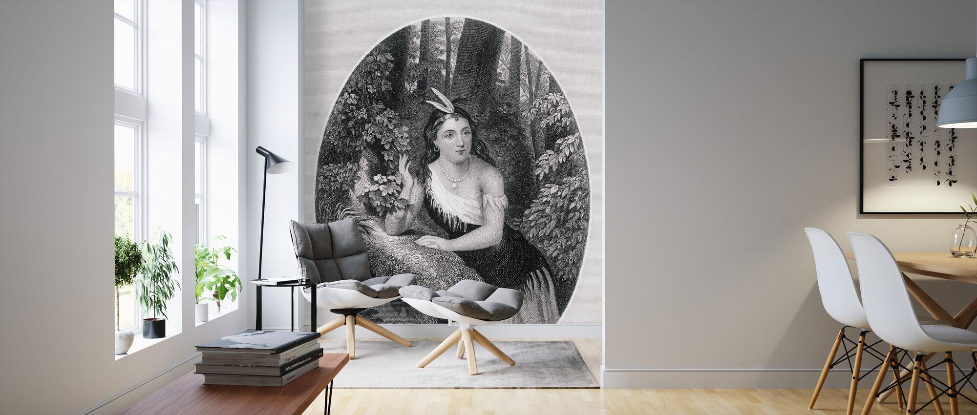 Pocahontas - Wallpaper - Living Room