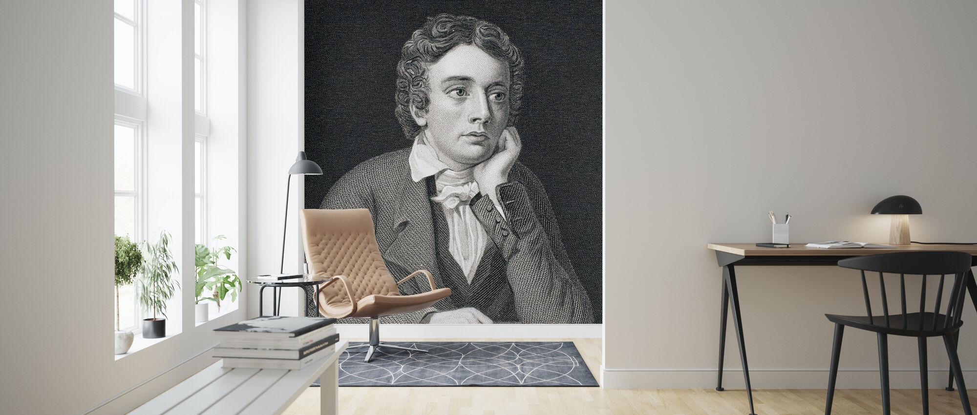 John Keats - Wallpaper - Living Room