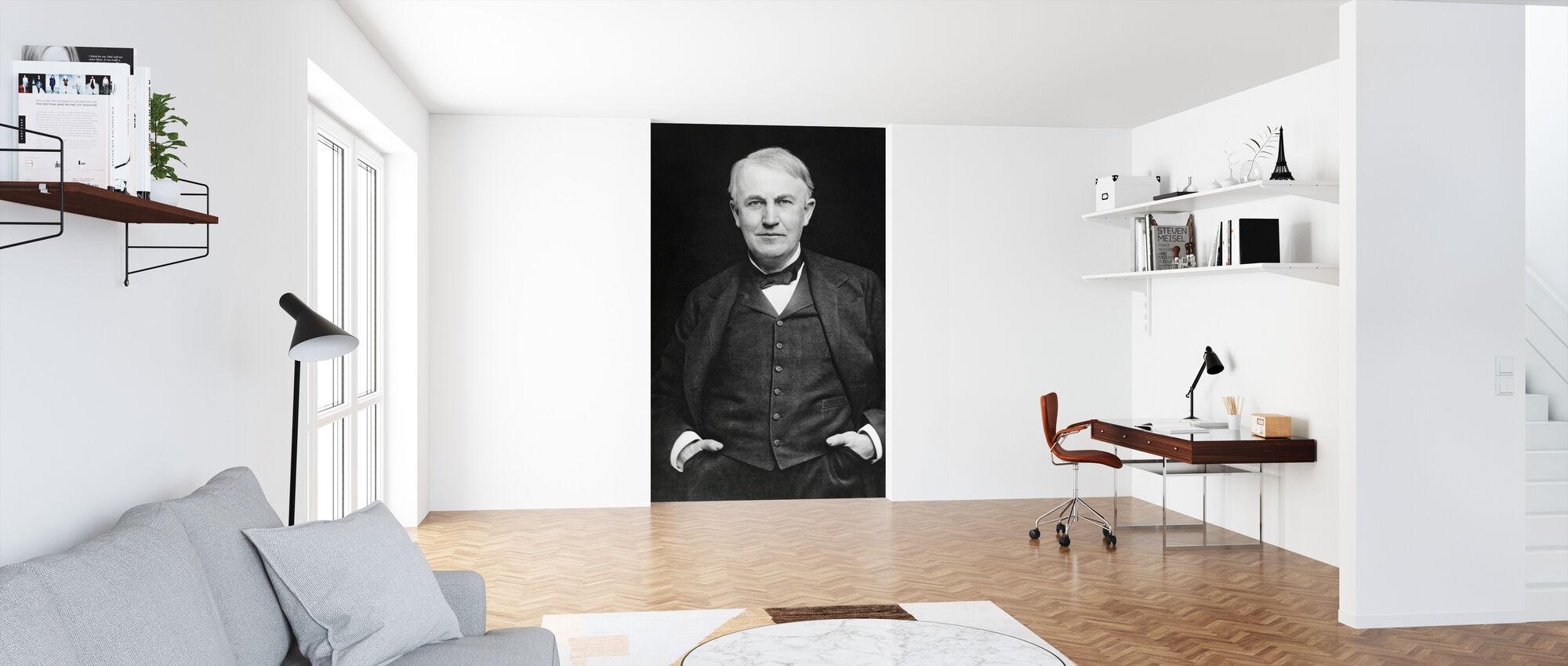Thomas Edison - Wallpaper - Office