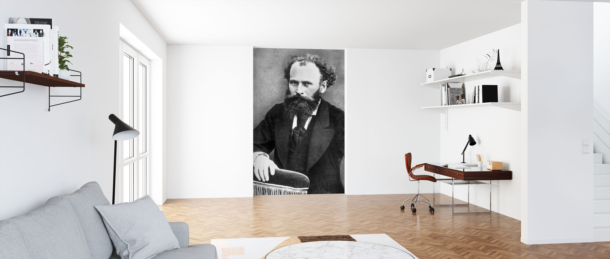 Edward Manet - Wallpaper - Office