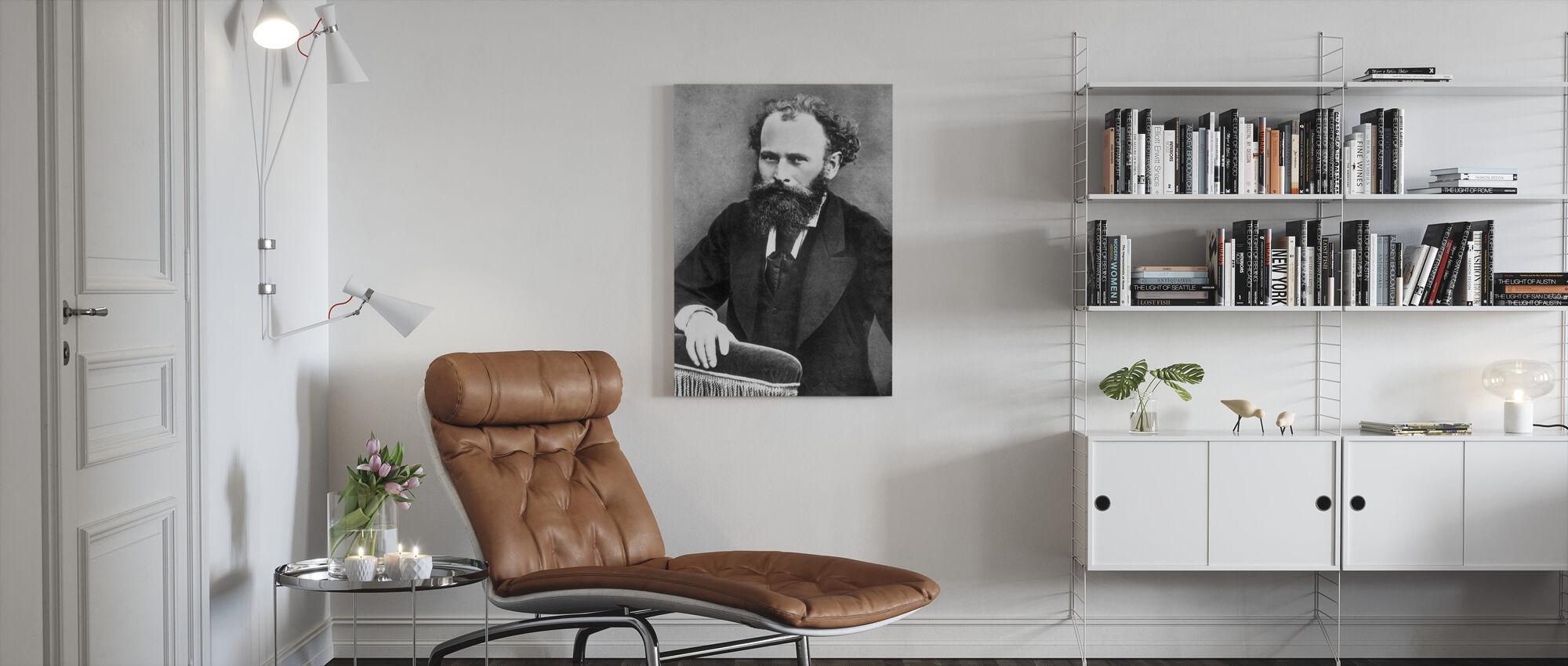 Edward Manet - Canvas print - Woonkamer
