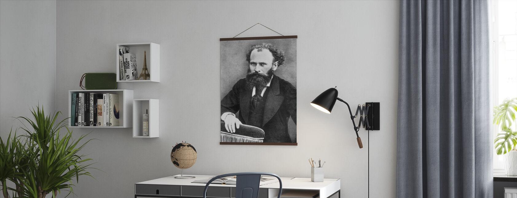 Edward Manet - Plakat - Kontor