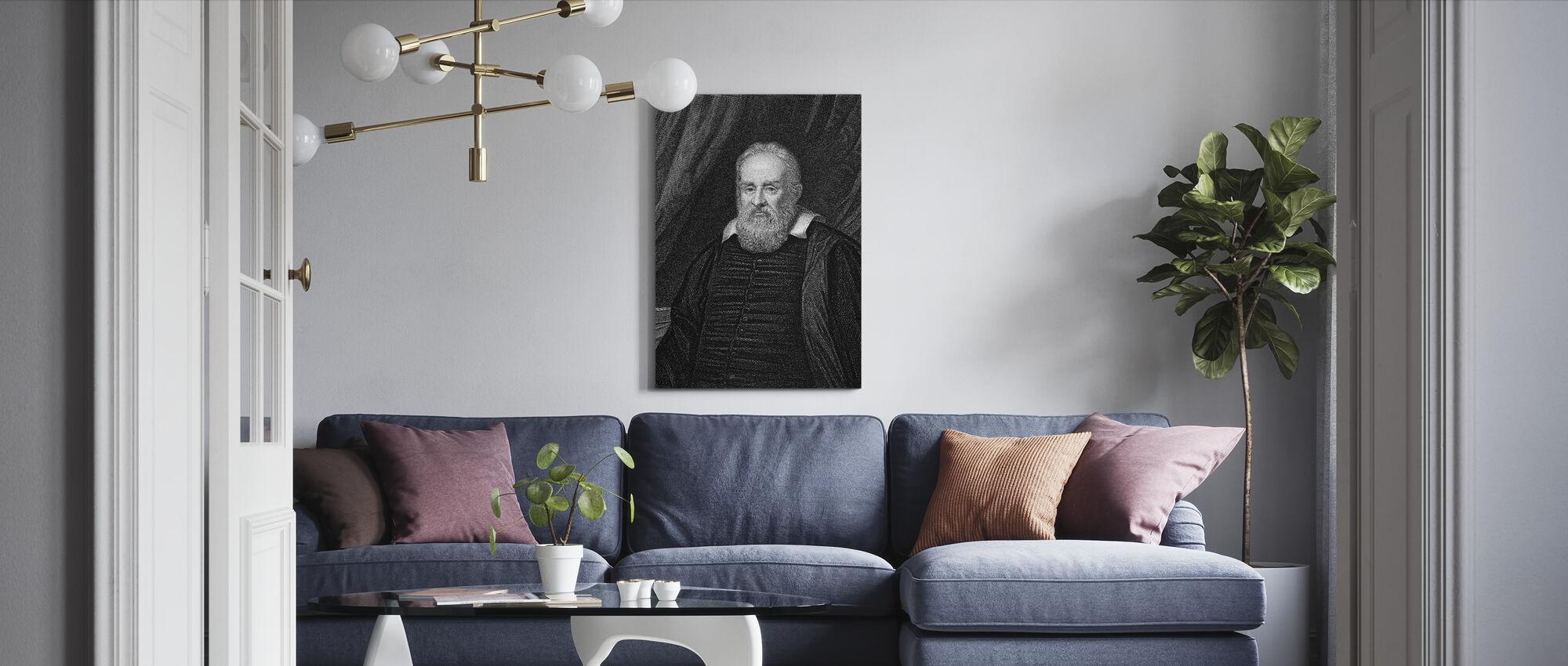 Galileo Galilei - Canvas print - Living Room