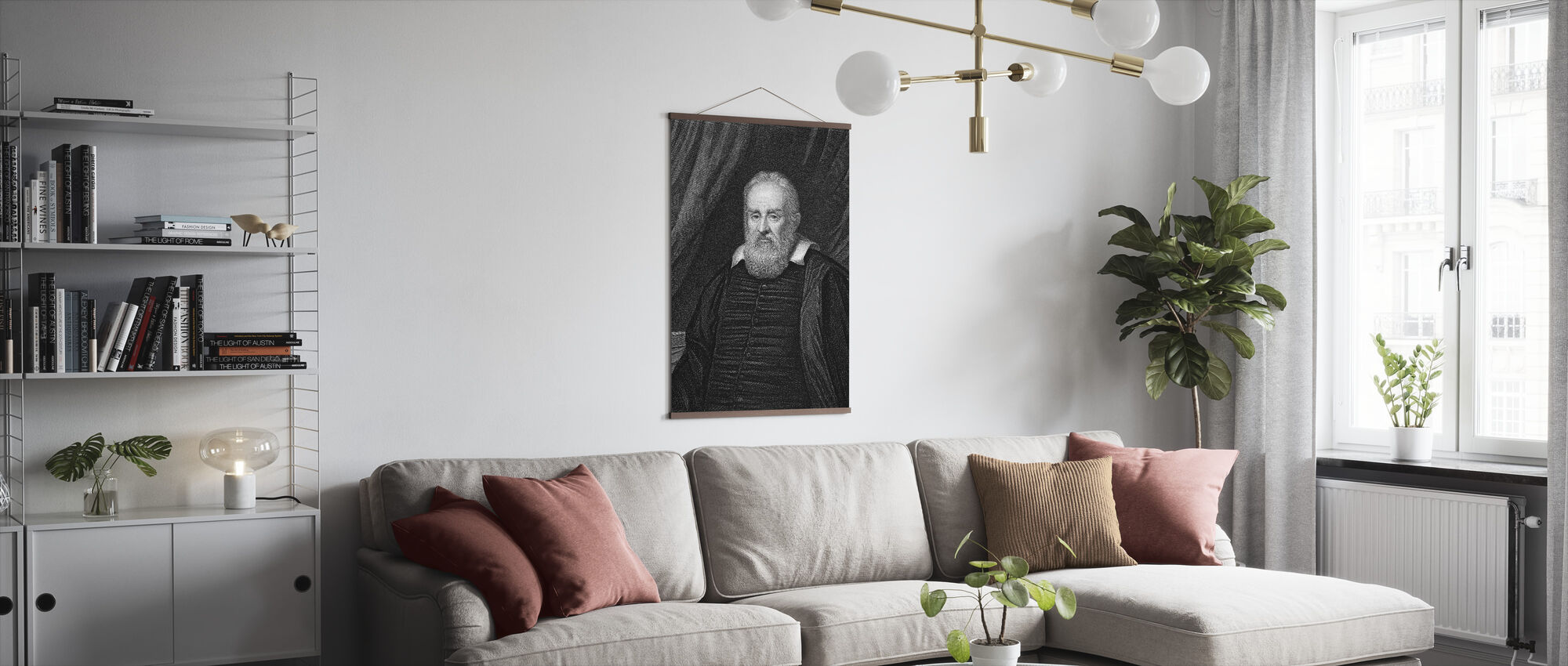 Galileo Galilei - Juliste - Olohuone