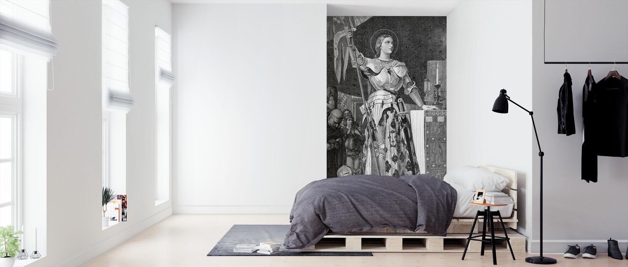 Jeanne van Arc Maid van Orleans - Behang - Slaapkamer