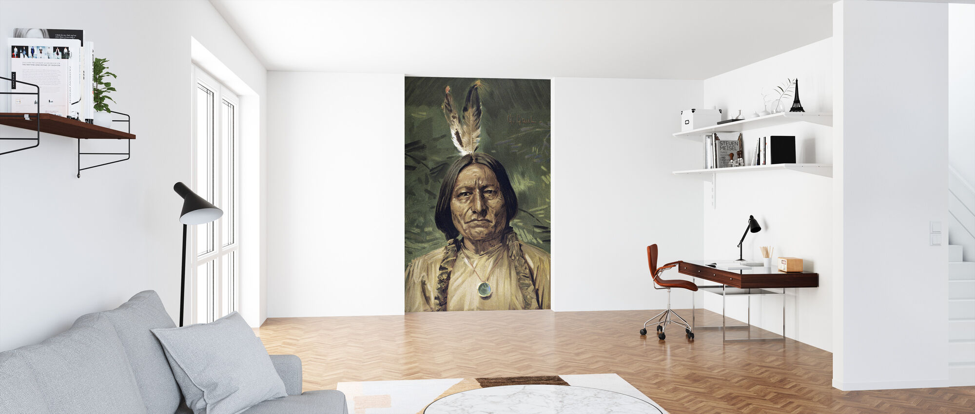 Chief Sitting Bull - Wallpaper - Office