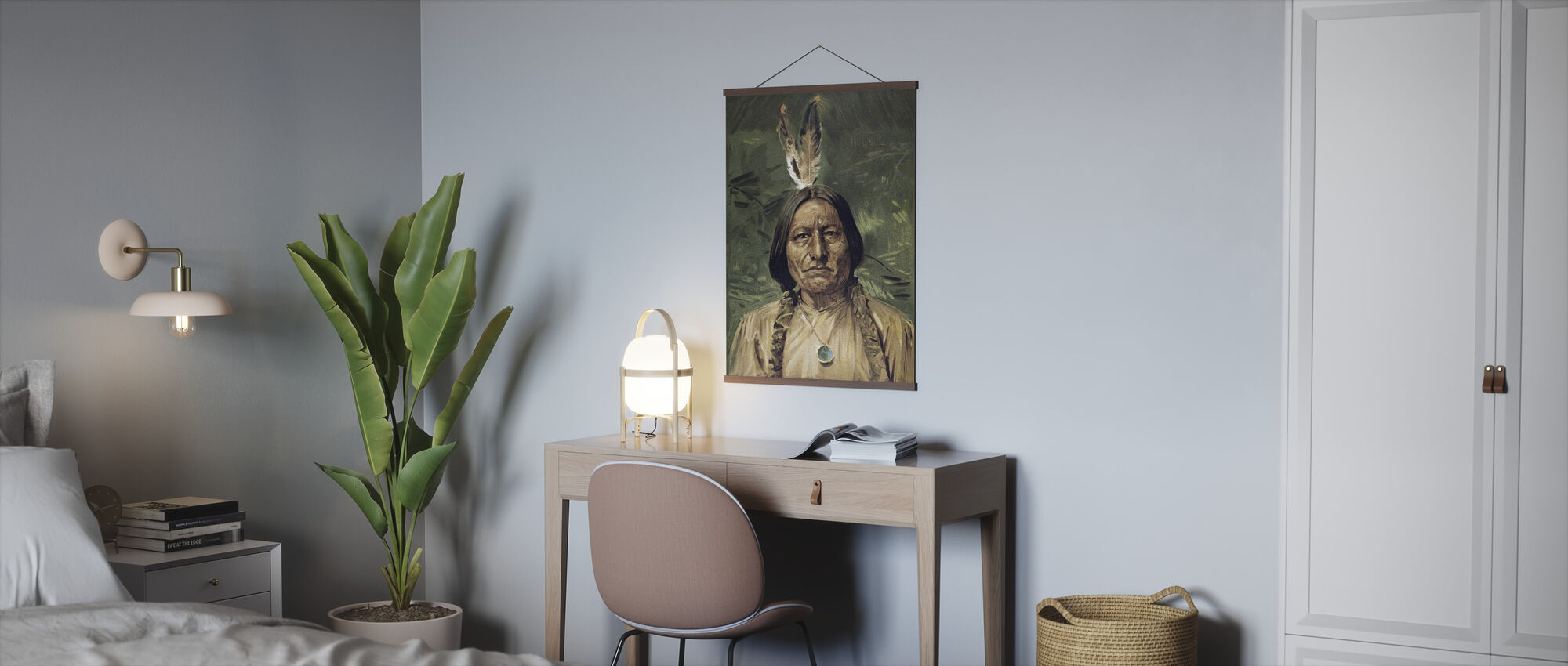 Chief Sitting Bull - Poster - Office