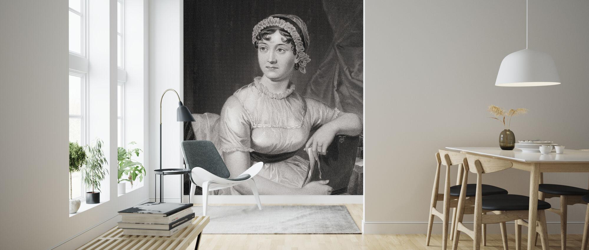 Jane Austen - Wallpaper - Living Room