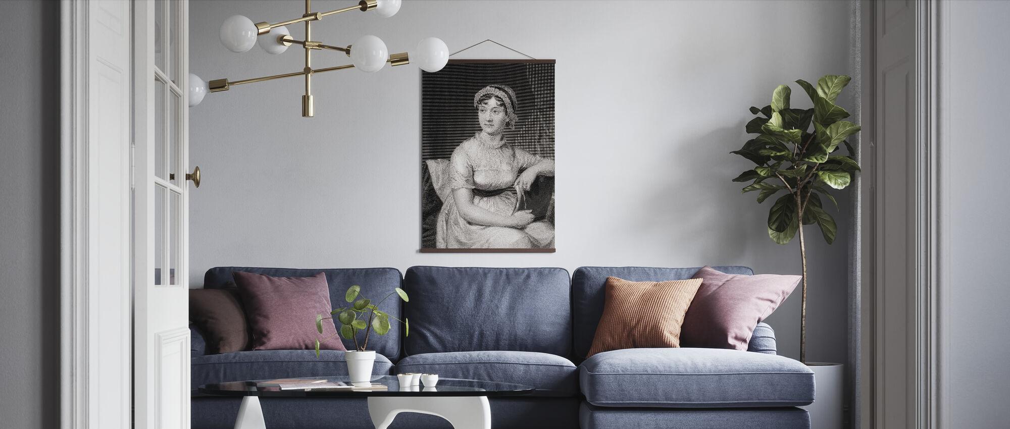 Jane Austen - Poster - Living Room