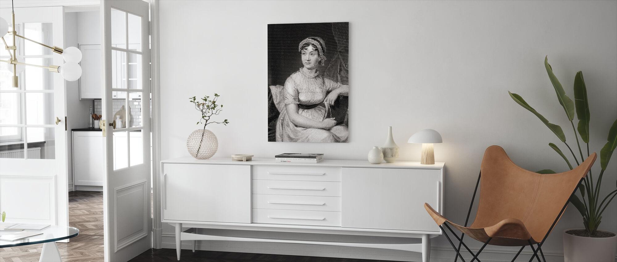 Jane Austen - Canvas print - Living Room